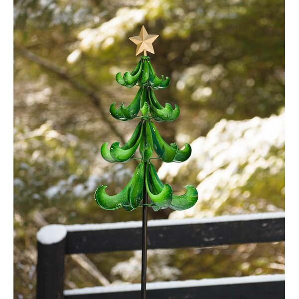 Christmas Tree Wind Spinner by Plow & Hearth