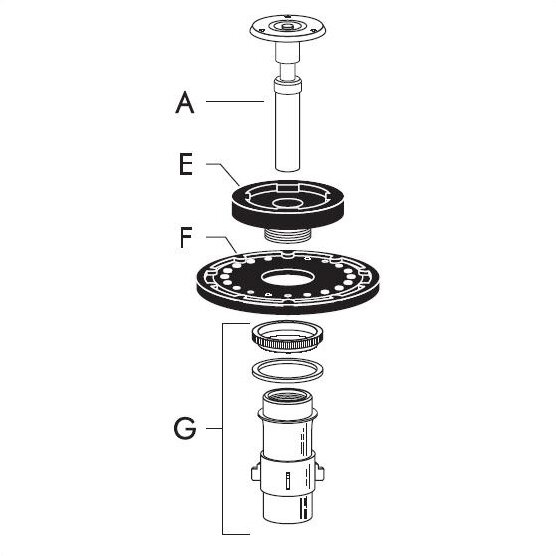Repair Kit for Regal Closet by Sloan