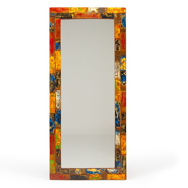 Nautical Smiles Full Length Mirror by EcoChic Lifestyles