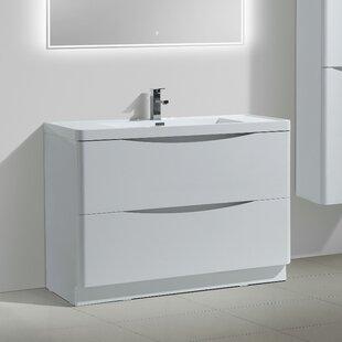 Ruelas Modern 47 Single Bathroom Vanity Set ByWrought Studio