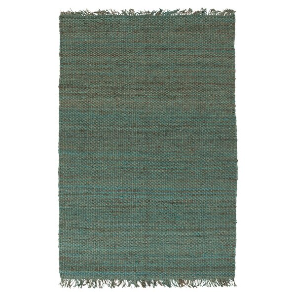 Pineda Hand Woven Blue Area Rug by World Menagerie