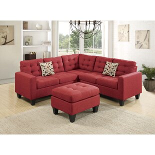 Moores Sectional with Ottoman