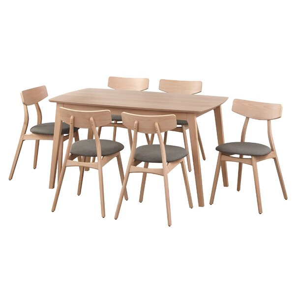 Grow 7 Piece Dining Set by George Oliver
