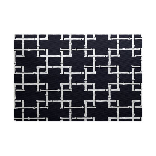 Connelly Navy Blue Indoor/Outdoor Area Rug by Bay Isle Home
