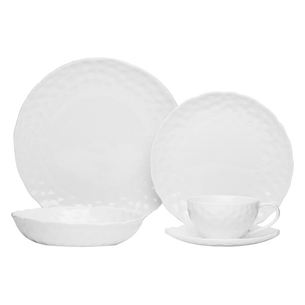 20 Piece Dinnerware Set by Red Vanilla