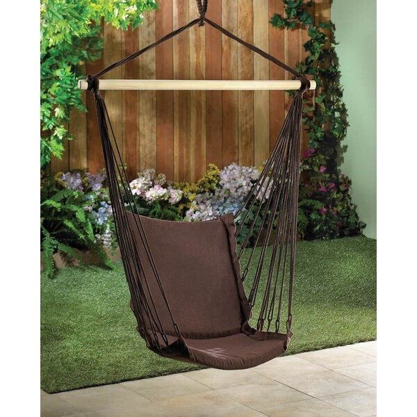 Kalia Cotton Chair Hammock by Winston Porter Winston Porter