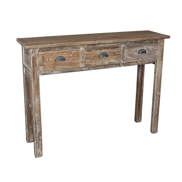 Darrel Hall Console Table By Highland Dunes