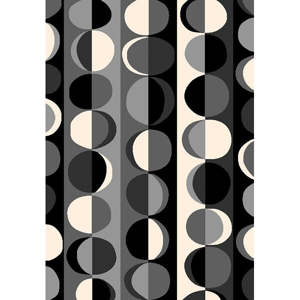 Bella Modern Contemporary Gray Area Rug by Planet Rugs