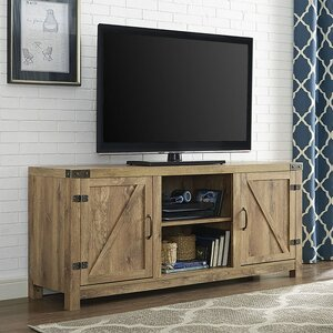 Anken 58 TV Stand with Optional Fireplace Loon Peak