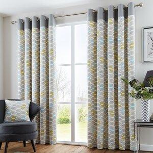 Lora Eyelet Curtains (Set of 2)