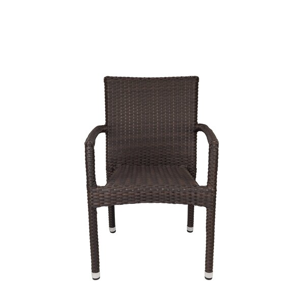 Sierra Stacking Patio Dining Chair by Source Contract