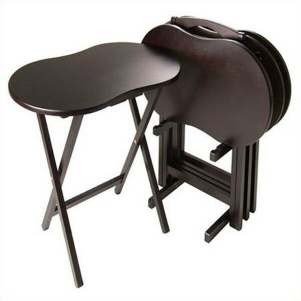 Skippy 5 Piece Tray Table Set