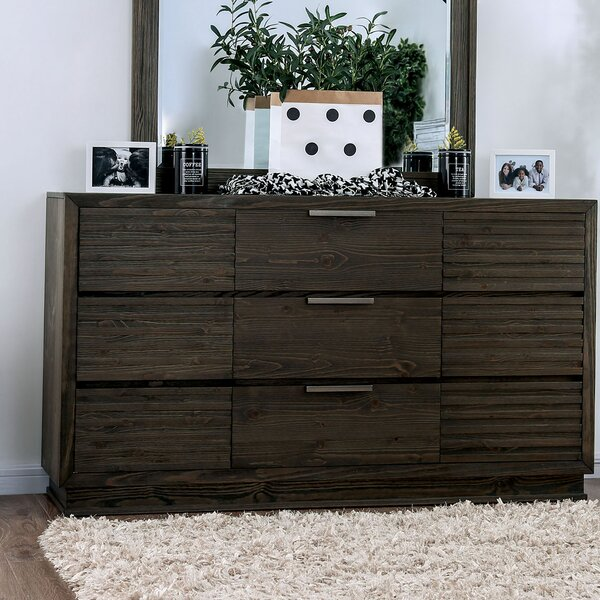 Larock 9 Drawer Dresser by Millwood Pines