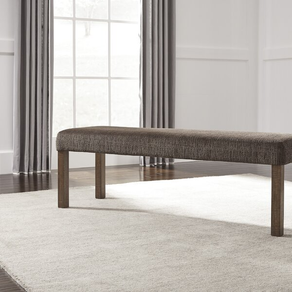 Etolin Wood Bench by Loon Peak