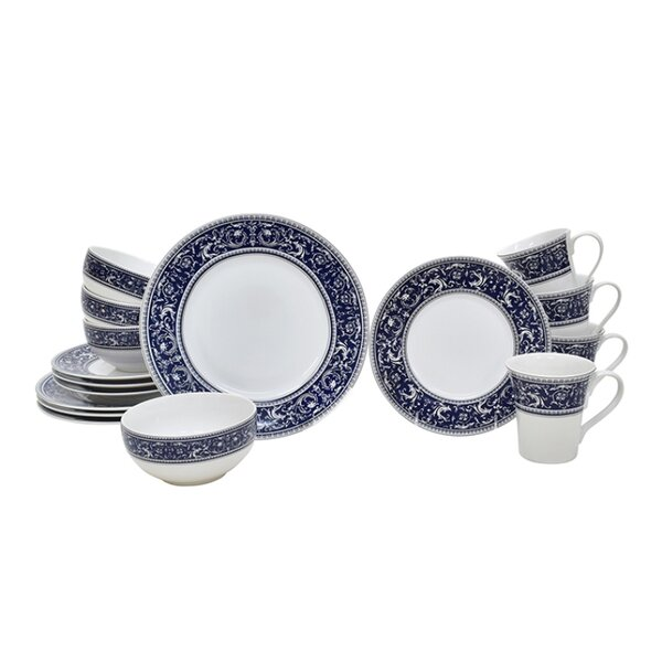 Francesco 16 Piece Dinnerware Set, Service for 4 by 222 Fifth
