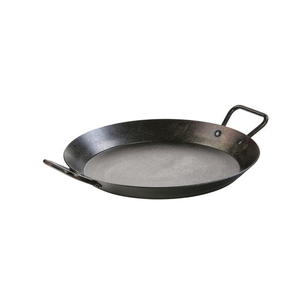Seasoned 15 Carbon Steel Frying pan by Lodge