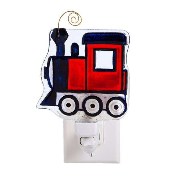 Train Glass Night Light by Evergreen Enterprises, Inc