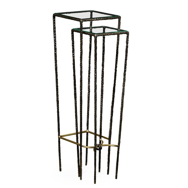 2 Piece Nesting Tables by Jonathan Charles Fine Furniture Jonathan Charles Fine Furniture