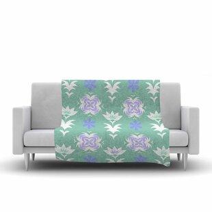 Compare & Buy Alison Coxon Edwardian Tile Fleece Blanket ByEast Urban Home