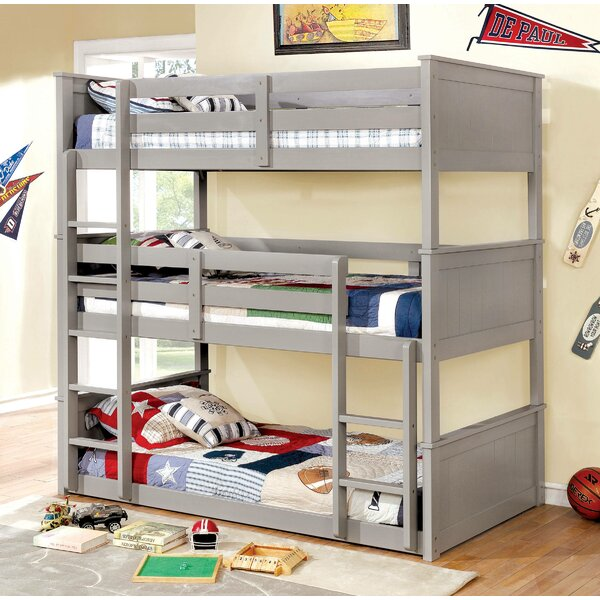 Kain Triple Bunk Bed by Harriet Bee