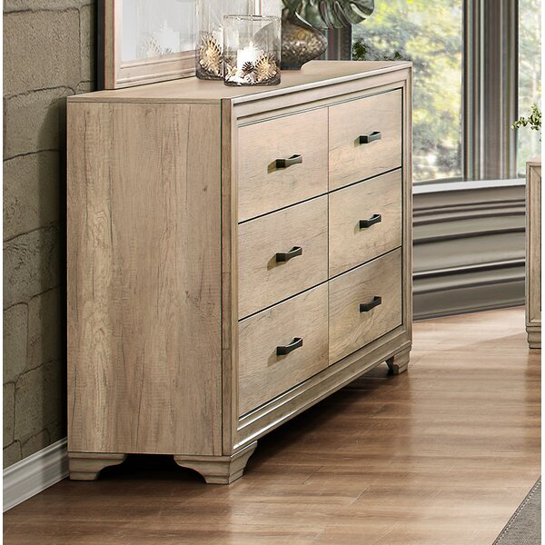 Emberton 6 Drawer Dresser by Millwood Pines