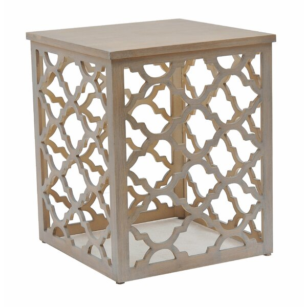 Denver End Table by Highland Dunes