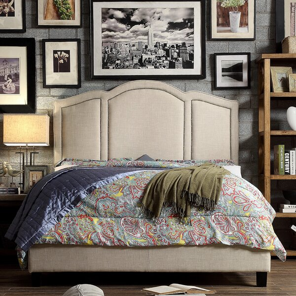 Belpre Queen Upholstered Standard Bed by Gracie Oaks