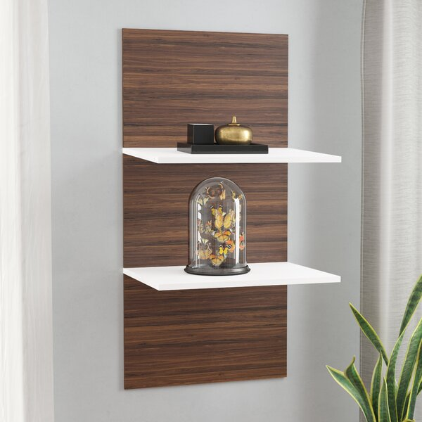Contemporary Floating Shelf by Wade Logan