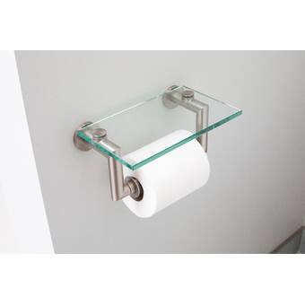 Kohler K 72576 Sn Artifacts Wall Mount Carriage Toilet Paper Holder