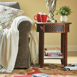 Pauline End Table by Beachcrest Home