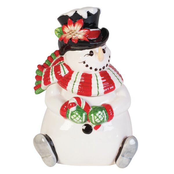 Top Hat Frosty Lidded Box by Fitz and Floyd