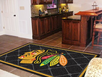 NHL - Chicago Blackhawks 5x8 Rug by FANMATS