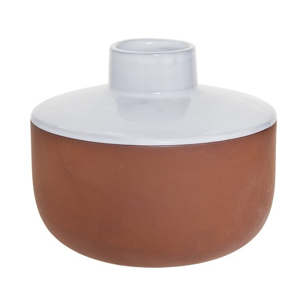 Acrion Terracotta Evelyse Table Vase by Wrought Studio