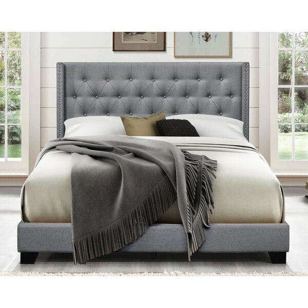 Gloucester Upholstered Standard Bed By Greyleigh by Greyleigh Bargain