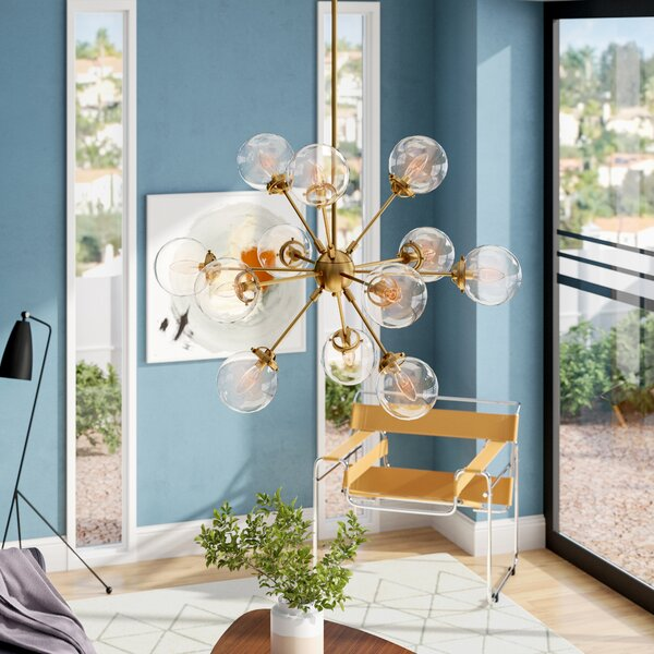 Benites 12-Light Sputnik Chandelier by Langley Str