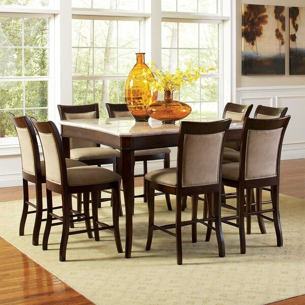 Swenson 9 Piece Dining Set by Darby Home Co Darby Home Co