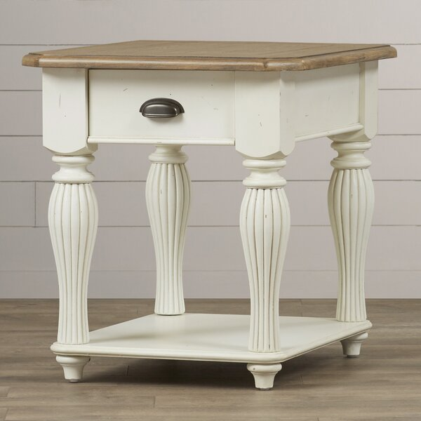 Margate End Table by Three Posts