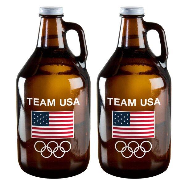 Olympics 64 Oz. Jar (Set of 2) by Boelter Brands