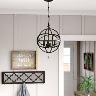 Savings Eastcote 3-Light Globe Chandelier By Gracie Oaks