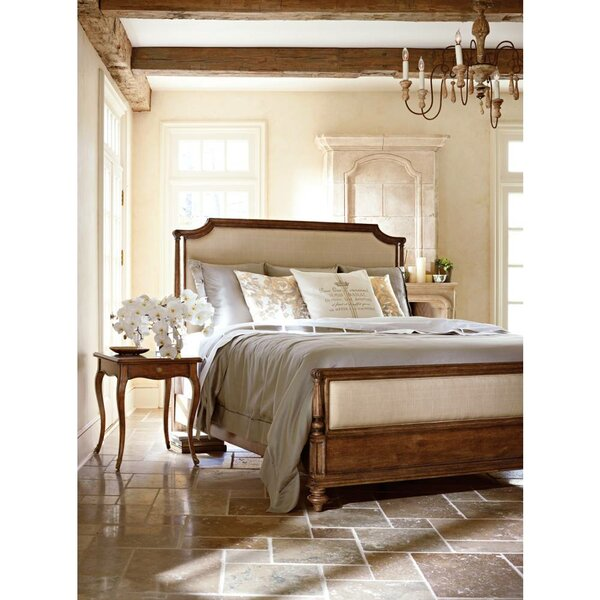 Arrondissement Upholstered Panel Bed by Stanley Furniture