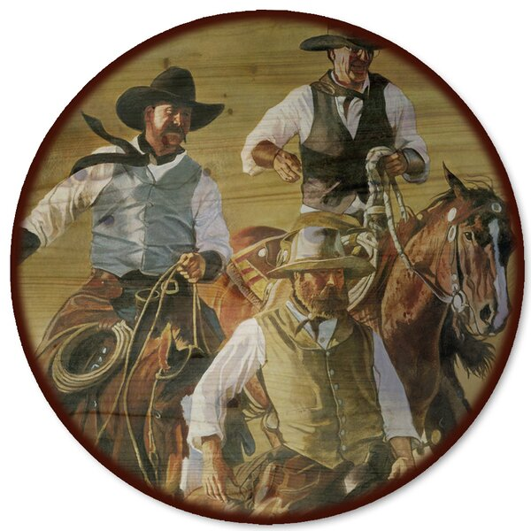 That Western Spirit Lazy Susan by WGI-GALLERY