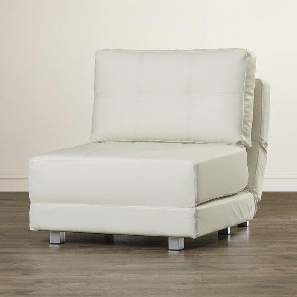 Hersey Convertible Chair by Ebern Designs Ebern Designs