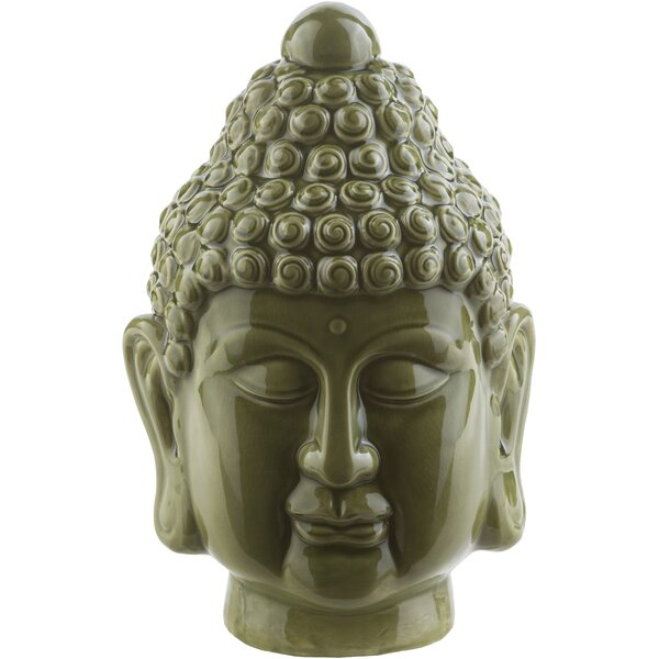 Buddha Head Bust by World Menagerie
