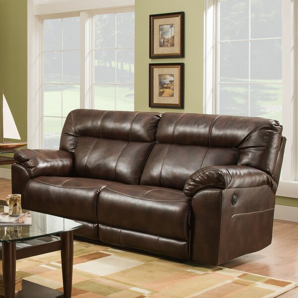 Explore And View All Simmons Upholstery Colwyn Motion Reclining Sofa by Darby Home Co by Darby Home Co