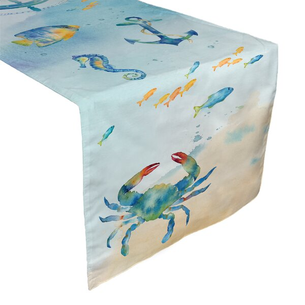 Heather Table Runner by Longshore Tides