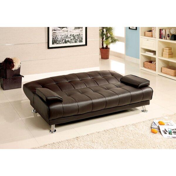 Puckett Tufted back Convertible Sofa