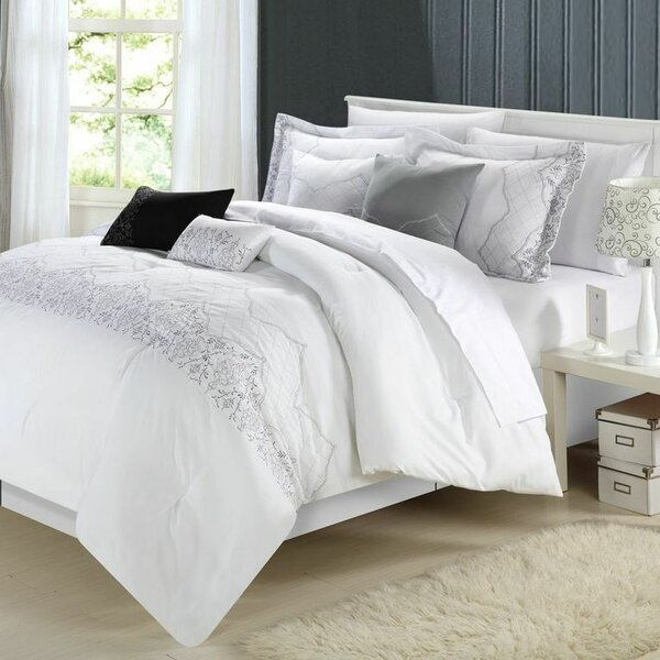 Leekb 8 Piece Comforter Set by Lark Manor