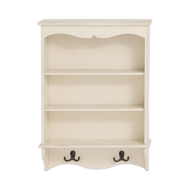 Sylvie Wooden Wall Shelf by Andover Mills