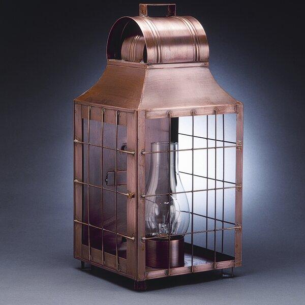 Livery 1-Light Outdoor Flush Mount by Northeast Lantern