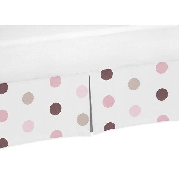Mod Dots Polka Crib Skirt by Sweet Jojo Designs